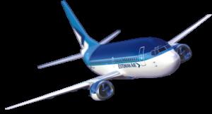 śledzenie lotu samolotu