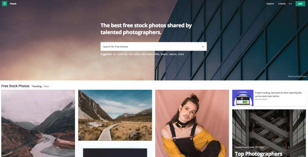 strona pexels.com